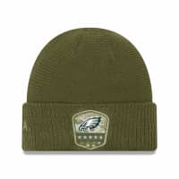 Philadelphia Eagles 2019 On-Field Salute to Service NFL Beanie Wintermütze