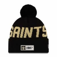 New Orleans Saints 2019 NFL Sideline Sport Knit Wintermütze Road