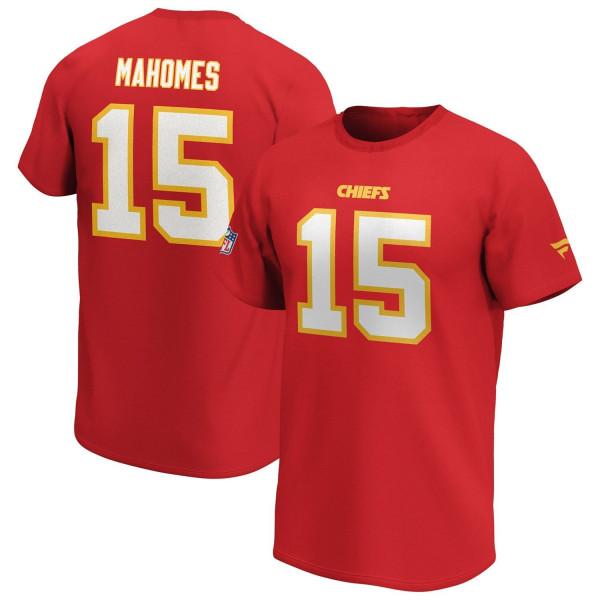 Patrick Mahomes #15 Kansas City Chiefs Fanatics Player Script NFL T-Shirt