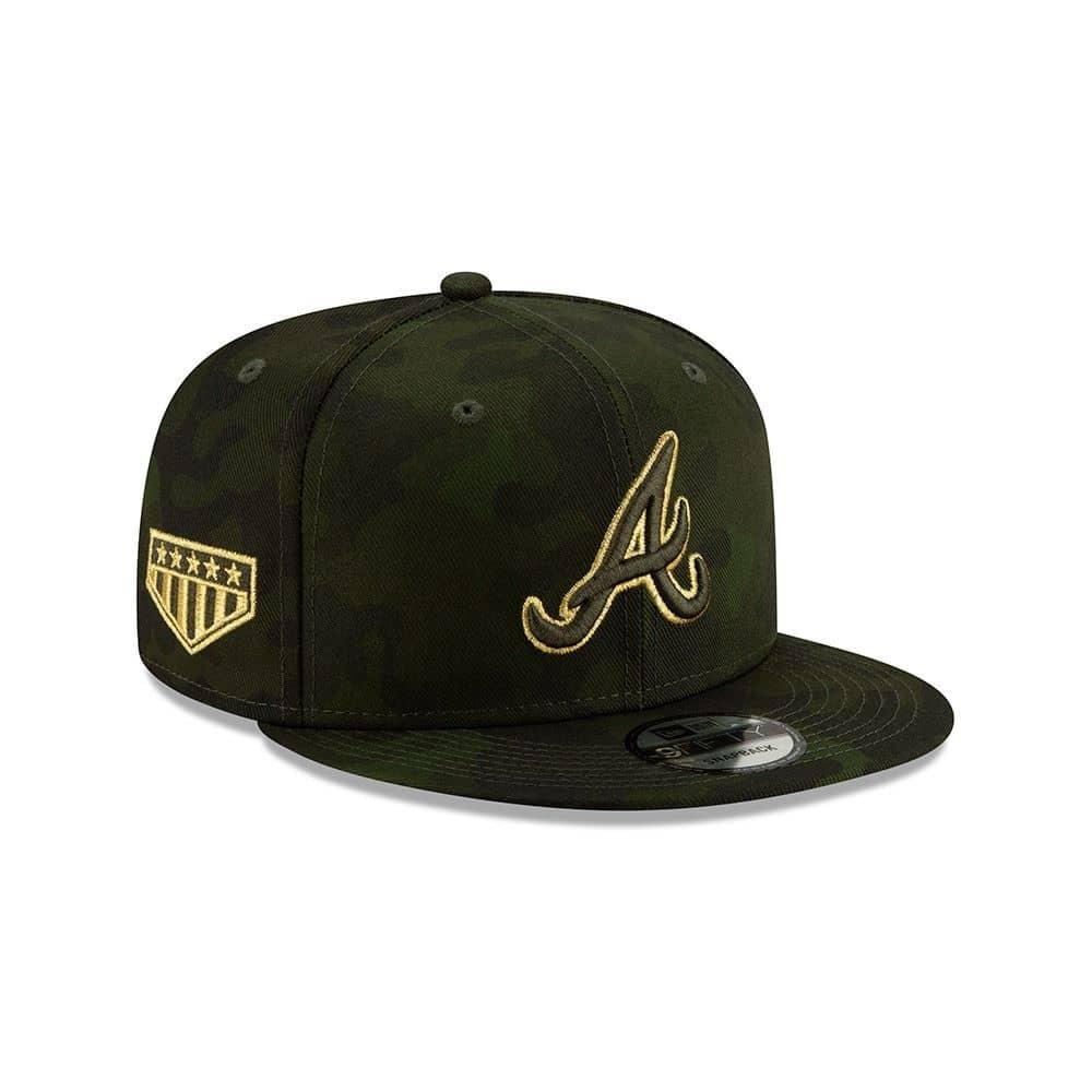 wholesale dealer d26fc 494d4 New Era Atlanta Braves 2019 Armed Forces Day 9FIFTY Snapback MLB Cap    TAASS.com Fan Shop