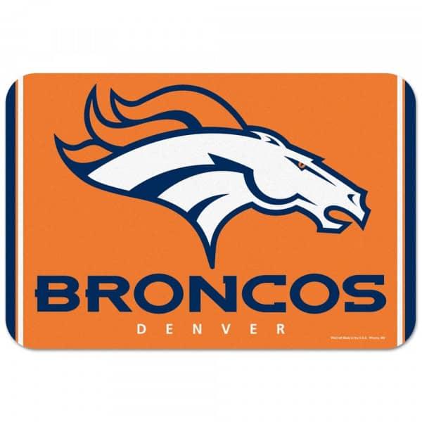 Denver Broncos Teamlogo American Football NFL Fußmatte