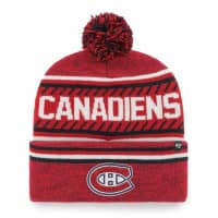 Montreal Canadiens Cuff Pom '47 Ice Knit NHL Wintermütze