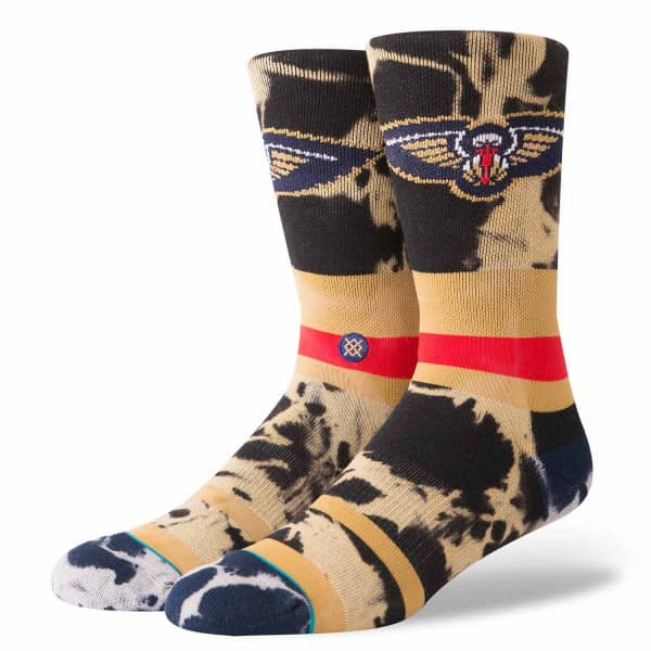 New Orleans Pelicans Acid Wash NBA Socken