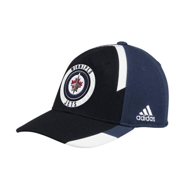 premium selection 1d260 c0a86 adidas Winnipeg Jets Echo Flex Fit NHL Cap   TAASS.com Fan Shop