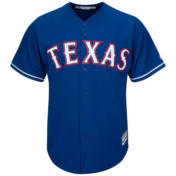 Texas Rangers Cool Base MLB Trikot Alternate Blau