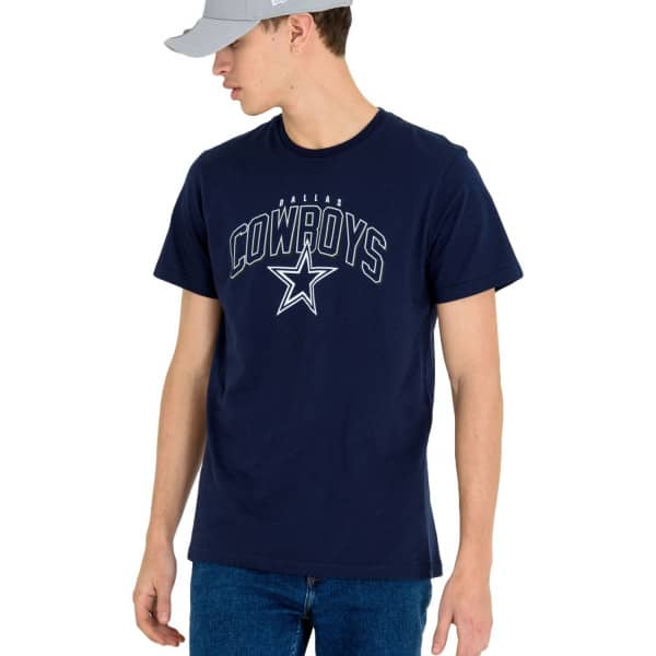 Dallas Cowboys Wordmark Arch NFL T-Shirt