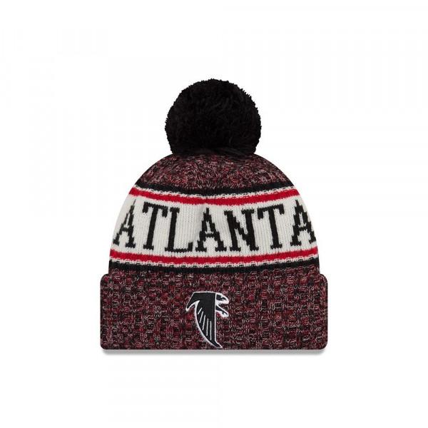 Atlanta Falcons Throwback 2018 Sideline Sport Knit NFL Wintermütze