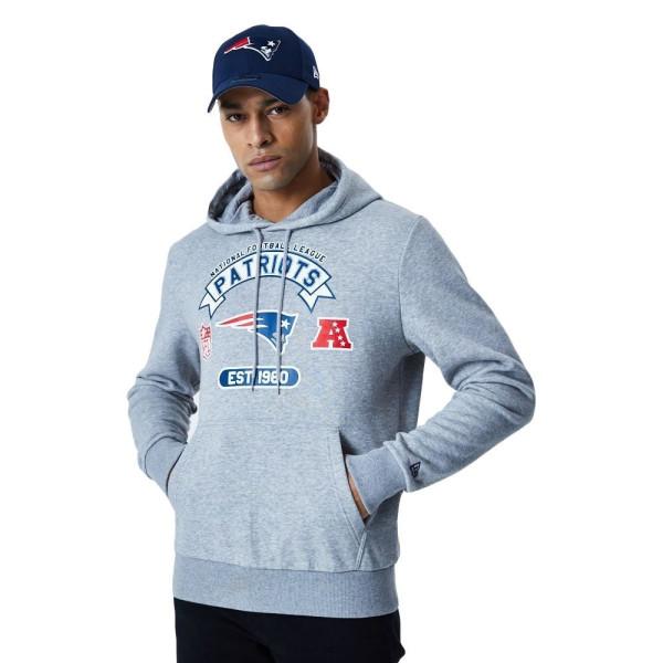 New England Patriots 2020 Team Graphics NFL Hoodie Sweatshirt