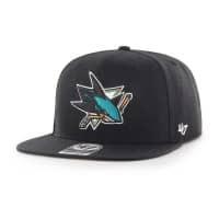San Jose Sharks No Shot Captain Snapback NHL Cap