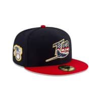 premium selection 3729a c96a0 NEW. Tampa Bay Rays 4th of July 2019 59FIFTY Fitted MLB Cap 7 1 8