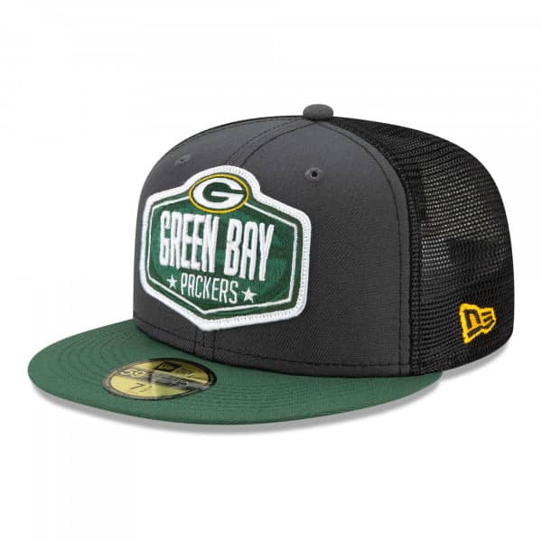 Green Bay Packers Official 2021 NFL Draft New Era 59FIFTY Fitted Cap