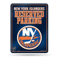New York Islanders Reserved Parking NHL Metallschild