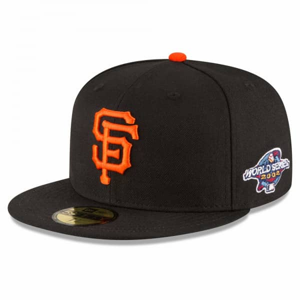 San Francisco Giants 2002 World Series Cooperstown 59FIFTY Fitted MLB Cap