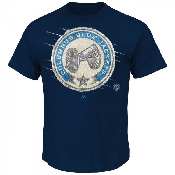 Columbus Blue Jackets Olska Logo NHL T-Shirt