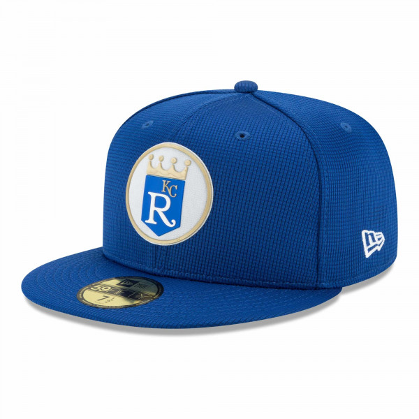 Kansas City Royals 2021 MLB Authentic Clubhouse New Era 59FIFTY Fitted Cap