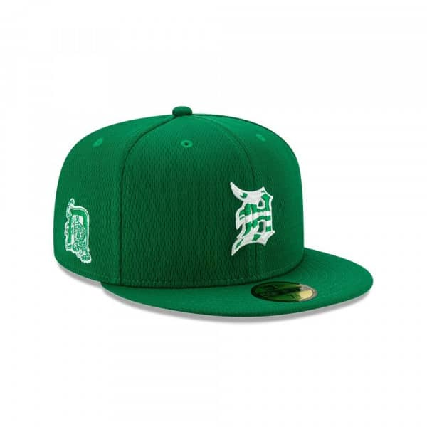 Detroit Tigers 2020 Authentic St. Patrick's Day 59FIFTY Fitted MLB Cap