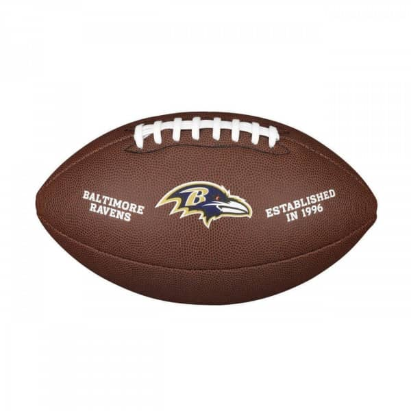 Baltimore Ravens Composite Full Size NFL Football