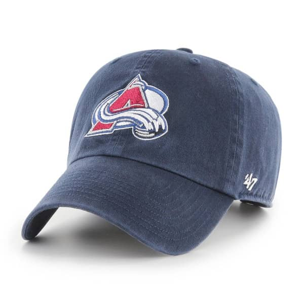 Colorado Avalanche '47 Clean Up Adjustable NHL Cap Navy