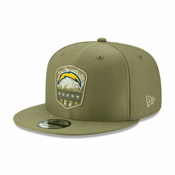 Los Angeles Chargers 2019 On-Field Salute to Service 9FIFTY Snapback NFL Cap