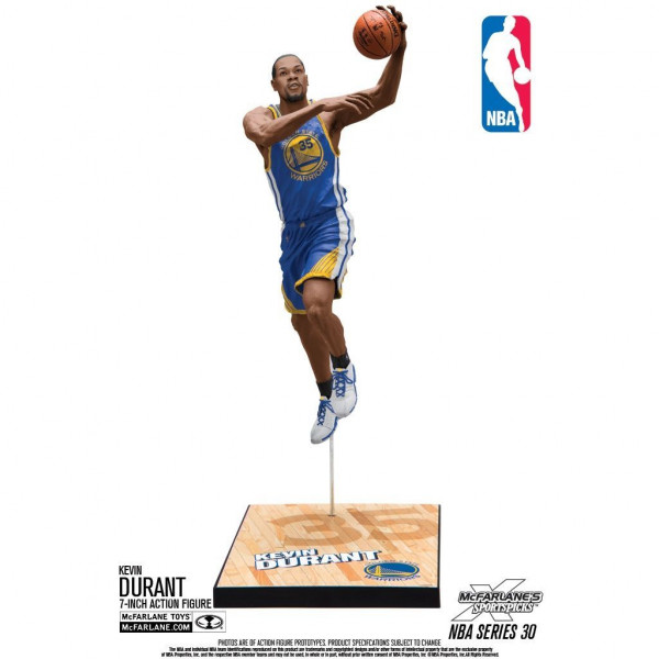 NBA Series 30 Kevin Durant Golden State Warriors Basketball Figur (16 cm)
