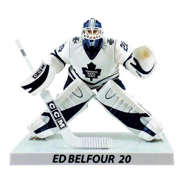 2002/03 Ed Belfour Toronto Maple Leafs NHL Figur (16 cm)