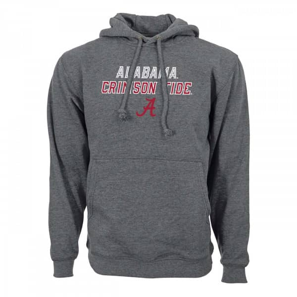 Alabama Crimson Tide Slant Route NCAA Hoodie