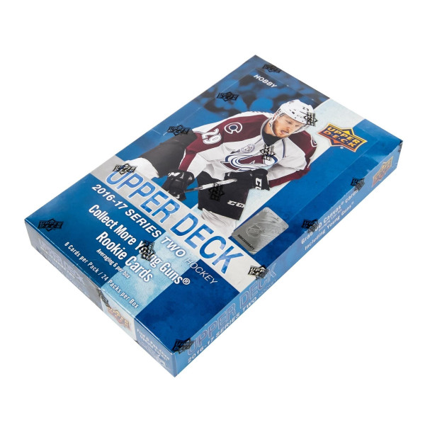 2016/17 Upper Deck Series 2 Hockey Hobby Box NHL