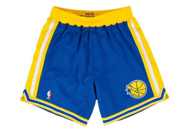 Golden State Warriors 1995-1996 Authentic NBA Shorts