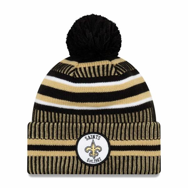 New Orleans Saints 2019 NFL Sideline Sport Knit Wintermütze Home