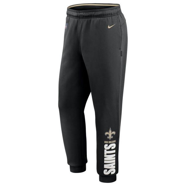 New Orleans Saints 2020 NFL Sideline Lockup Nike Therma Jogger Sweatpants