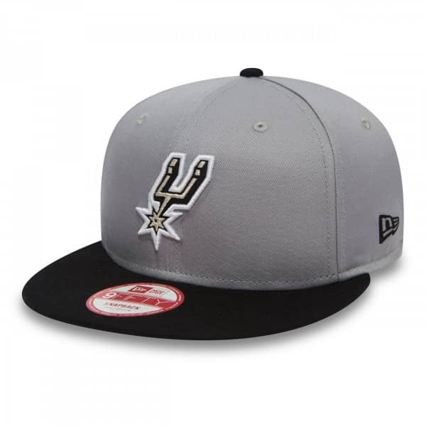 buy popular 29283 52b53 New Era San Antonio Spurs 2-Tone Team 9FIFTY Snapback NBA Cap M L    TAASS.com Fan Shop