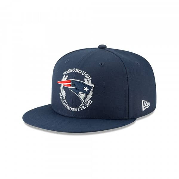New England Patriots 2019 NFL Draft On-Stage 59FIFTY Fitted Cap