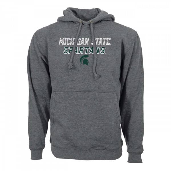 Michigan State Spartans Slant Route NCAA Hoodie