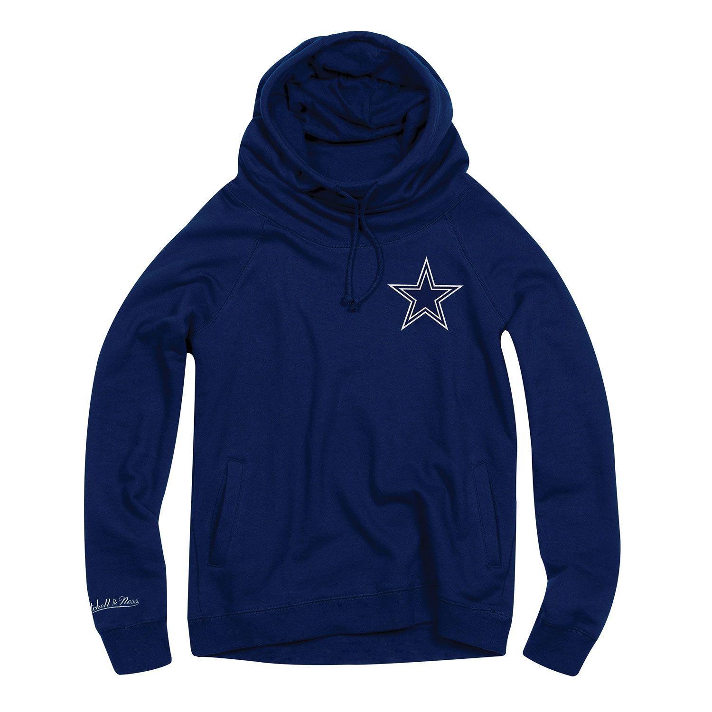 875ba36c Dallas Cowboys Funnel Neck Pullover NFL Hoodie (WOMEN'S)