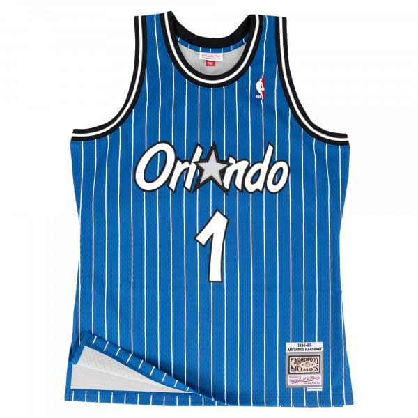 Penny Hardaway #1 Orlando Magic 1994-95 Swingman NBA Trikot Blau