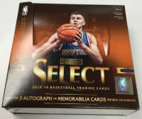 2015/16 Panini Select Basketball Hobby Box NBA