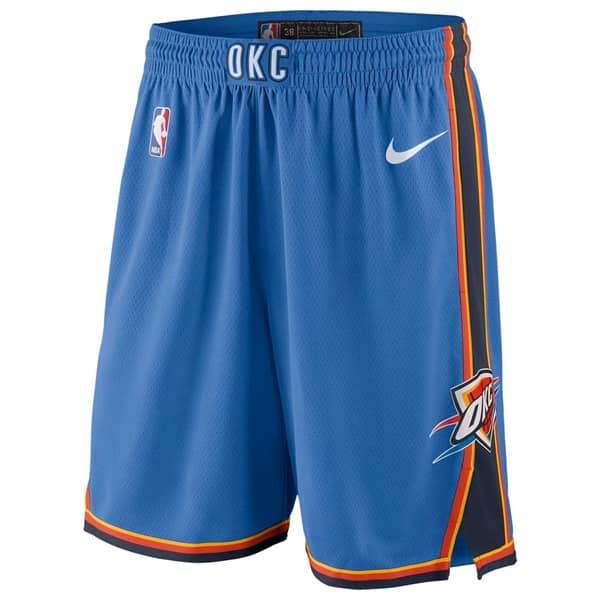 Oklahoma City Thunder Icon Swingman NBA Shorts Blau