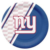 New York Giants Partyware NFL Pappteller Set (20 Stk.)