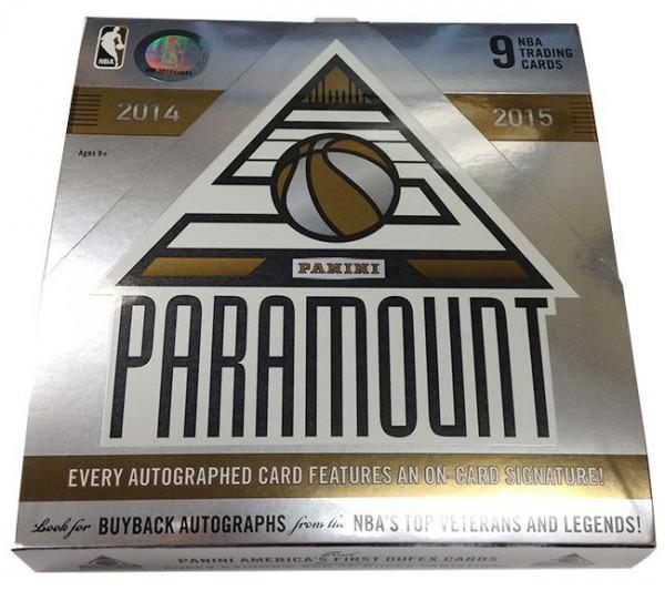 2014/15 Panini Paramount Basketball Hobby Box NBA