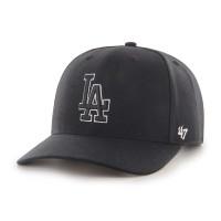 Los Angeles Dodgers Black & White '47 Cold Zone MVP DP MLB Cap