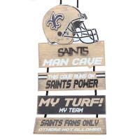 New Orleans Saints FOCO NFL Man Cave Schild