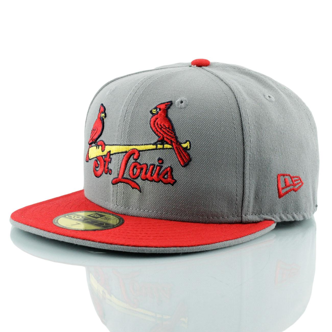 best loved 87d07 e33be New Era St. Louis Cardinals Jersey Logo 59FIFTY Fitted MLB Cap   TAASS.com  Fanshop