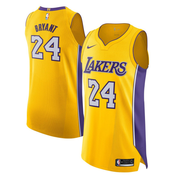 Kobe Bryant #24 Los Angeles Lakers Icon Authentic NBA Trikot