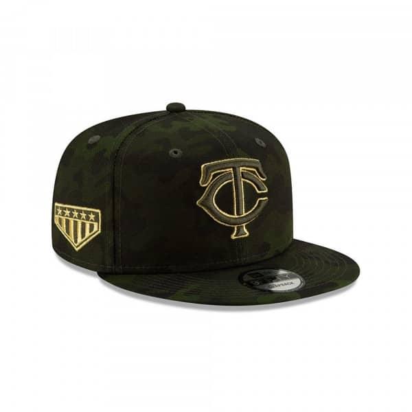 new style 5e18b 35478 New Era Minnesota Twins 2019 Armed Forces Day 9FIFTY Snapback MLB Cap    TAASS.com Fan Shop