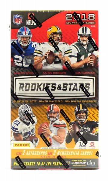 2018 Panini Rookies & Stars Football Hobby Box NFL