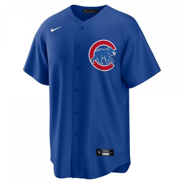 Chicago Cubs 2020 Nike MLB Replica Alternate Trikot Blau