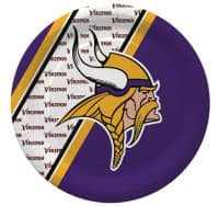 Minnesota Vikings Partyware NFL Pappteller Set (20 Stk.)