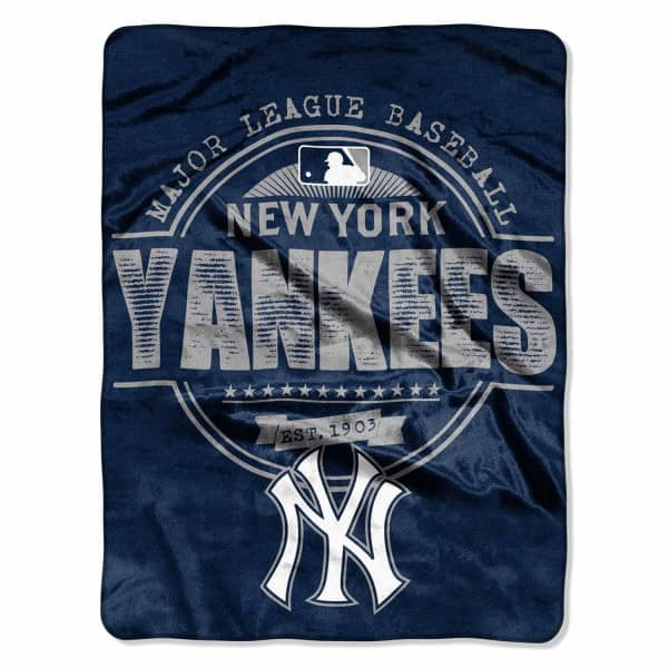 New York Yankees Super Plush MLB Decke