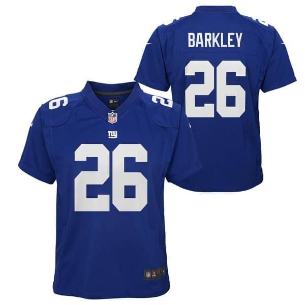 Saquon Barkley #26 New York Giants Youth NFL Trikot (KINDER)