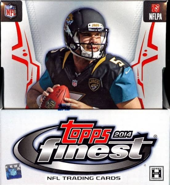 2014 Topps Finest Football Hobby Box NFL